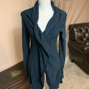 Free People Cascading Button Front Cardigan